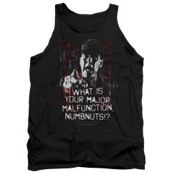 Image for Full Metal Jacket Tank Top - What is Your Majoy Malfunction Numbnuts?