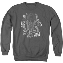 Image for Full Metal Jacket Crewneck - Gunnary Sergent Hartman Quotes