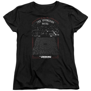 Image for The Shining Womans T-Shirt - Overlook