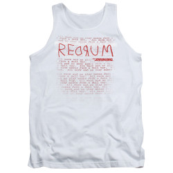 Image for The Shining Tank Top - Redrum