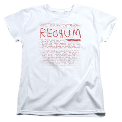 Image for The Shining Womans T-Shirt - Redrum