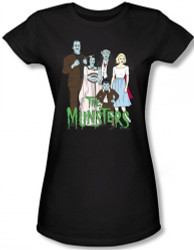 Image for The Munsters the Family Girls Shirt