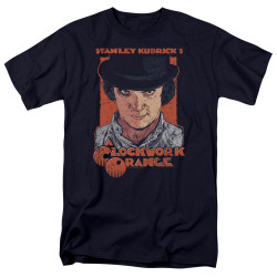 Image for A Clockwork Orange T-Shirt - Sinister Stare
