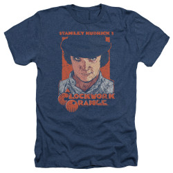 Image for A Clockwork Orange Heather T-Shirt - Sinister Stare