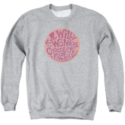 Image for Willy Wonka and the Chocolate Factory Crewneck - Circle Logo