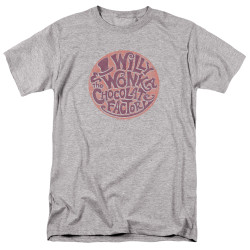 Image for Willy Wonka and the Chocolate Factory T-Shirt - Circle Logo