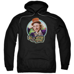 Image for Willy Wonka and the Chocolate Factory Hoodie - It's Scrumdiddlyumptious