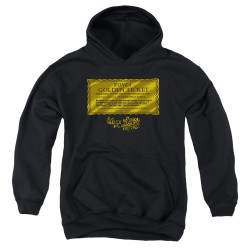 Image for Willy Wonka and the Chocolate Factory Youth Hoodie - Golden Ticket