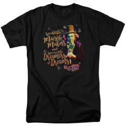 Image for Willy Wonka and the Chocolate Factory T-Shirt - Music Makers