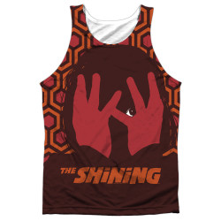 Front image for The Shining Sublimated Tank Top - Hallway
