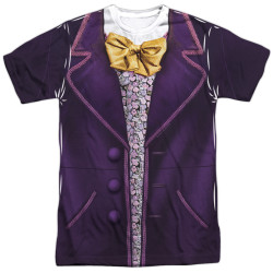 Front image for Willy Wonka and the Chocolate Factory Sublimated T-Shirt - Costume - 100% polyester