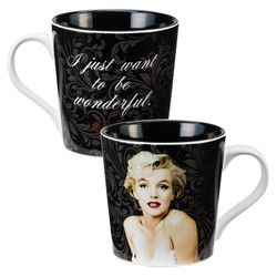 Image for Marilyn Monroe I Just Want to be Wonderful Coffee Mug