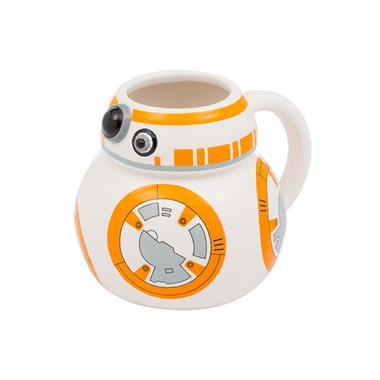 Front image for Star Wars BB-8 Sculpted Coffee Mug