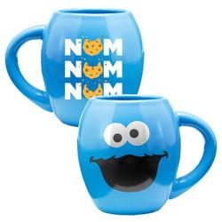 Full image for Sesame Street Cookie Monster Nom Nom Coffee Mug