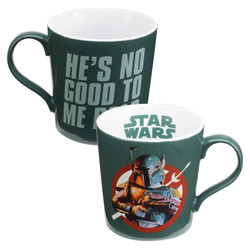 Full image for Star Wars Boba Fett He's No Good to Me Dead Coffee Mug