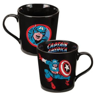 Full image for Captain America Jumping Forward Coffee Mug