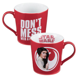 Full image for Star Wars Don't Mess With a Princess Coffee Mug