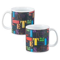 Image for Tetris Blocks Heat Transforming Coffee Mug