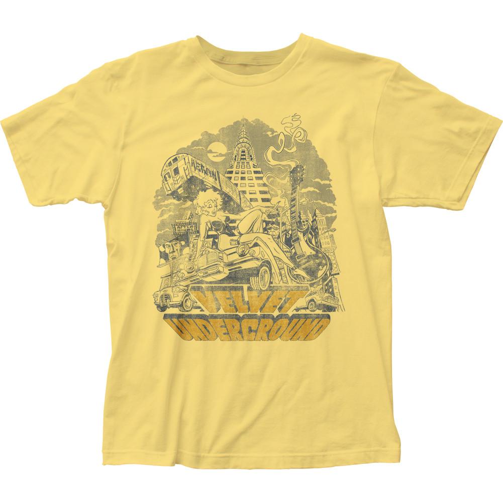 2017b7b6 The Velvet Underground NYC T-Shirt - NerdKungFu