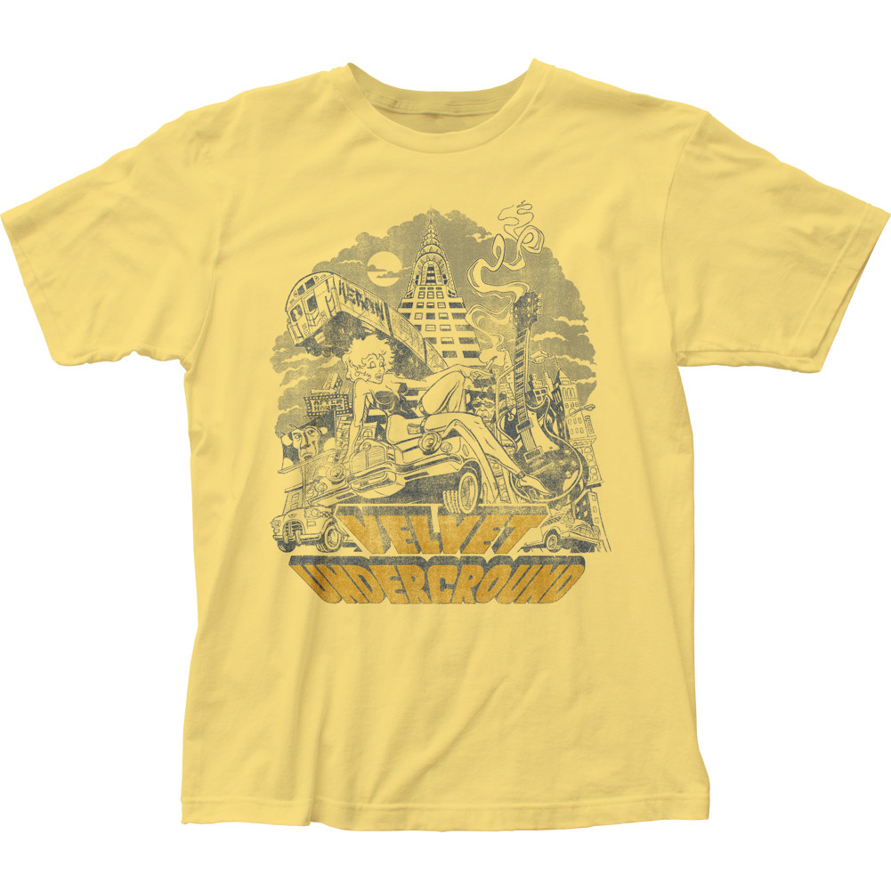 9dd2ce365 The Velvet Underground NYC T-Shirt - NerdKungFu