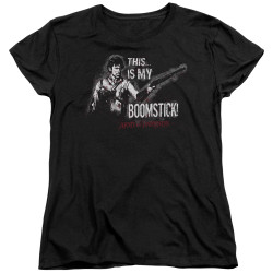 Image for Army of Darkness Womans T-Shirt - Boomstick