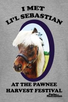Image for Parks & Rec I Met Li'l Sebastian T-Shirt
