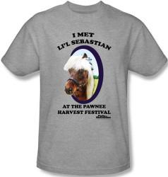Image Closeup for Parks & Rec I Met Li'l Sebastian T-Shirt