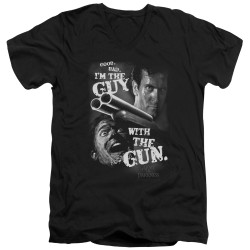 Image for Army of Darkness V Neck T-Shirt - Guy With the Guy
