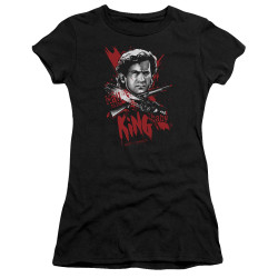 Image for Army of Darkness Juniors Premium Bella T-Shirt - Hail to the King