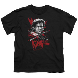 Image for Army of Darkness Youth T-Shirt - Hail to the King