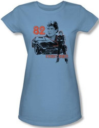 Image for Knight Rider 1982 Girls Shirt