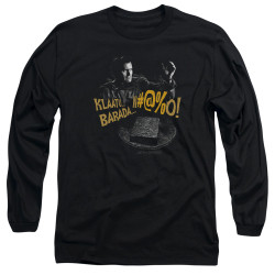 Image for Army of Darkness Long Sleeve Shirt - Klaatu...Barada