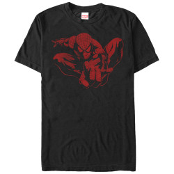 Image for Spider-Man Spider Leap Tonal T-Shirt