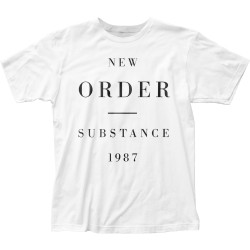 Image for New Order Substance 1987 T-Shirt