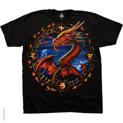 Image Closeup for Dragon Portal T-Shirt