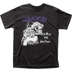 Image for The Misfits Die Die My Darling T-Shirt