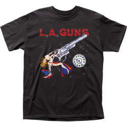 Image for LA Guns Cocked & Loaded T-Shirt