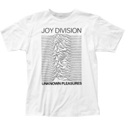 Image for Joy Division Unknown Pleasures White T-Shirt