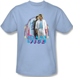 Image Closeup for Miami Vice Miami Heat T-Shirt