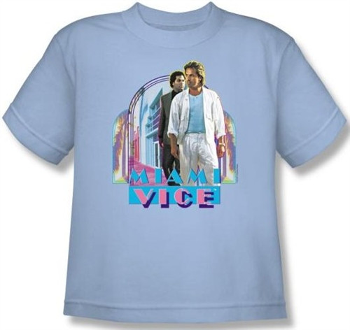 info for 02e64 af2ab Miami Vice Miami Heat Youth T-Shirt