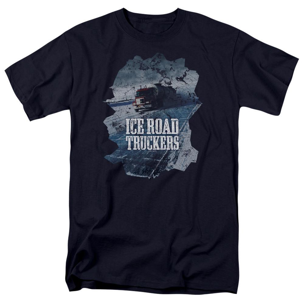 c9c9f2b87c2 King Ice Road Truckers T-Shirt - Ice Road - NerdKungFu