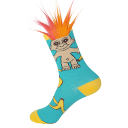 Image for Banana Split Troll Socks