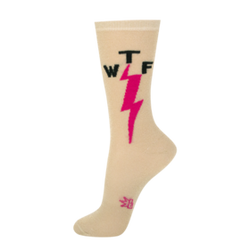 Image for WTF Lightning Sheer Metalic Socks