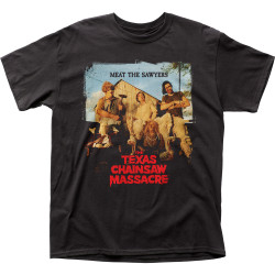 Image for Texas Chainsaw Massacre T-Shirt - Meet the Sawyers