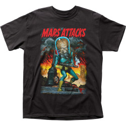 Image for Mars Attacks T-Shirt - City Destruction