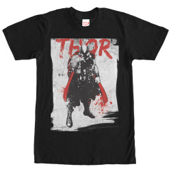 Image for Thor In Grunge T-Shirt