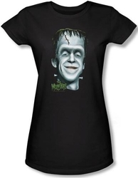 Image for The Munsters Herman's Head Girls Shirt