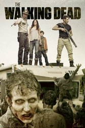 Image for Walking Dead Poster - Attack the RV