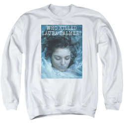 Image for Twin Peaks Crewneck - Who Killed Laura Palmer