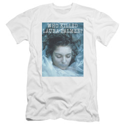 Image for Twin Peaks Premium Canvas Premium Shirt - Who Killed Laura Palmer